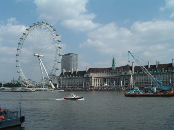 London Eye/River Thames